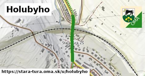 ilustrácia k Holubyho, Stará Turá - 232m