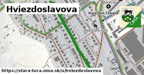 ilustrácia k Hviezdoslavova, Stará Turá - 439m