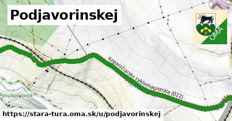ilustrácia k Podjavorinskej, Stará Turá - 3,5km