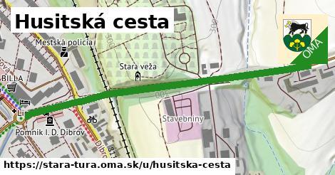 ilustrácia k Husitská cesta, Stará Turá - 646m