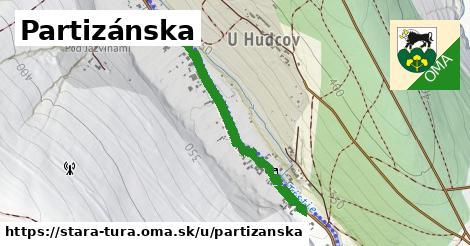 ilustrácia k Partizánska, Stará Turá - 0,73km