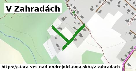 ilustrácia k V Zahradách, Stará Ves nad Ondřejnicí - 306m