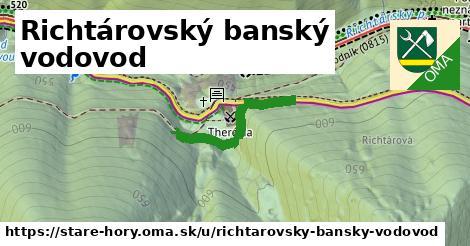 ilustrácia k Richtárovský banský vodovod, Staré Hory - 245m