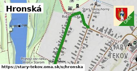 ilustrácia k Hronská, Starý Tekov - 485m