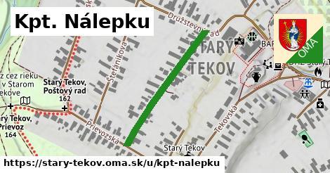 ilustrácia k Kpt. Nálepku, Starý Tekov - 320m