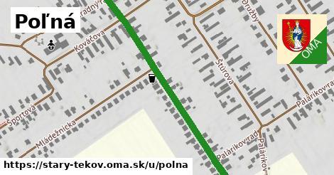 ilustrácia k Poľná, Starý Tekov - 486m