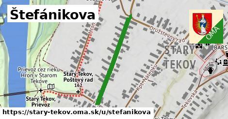 ilustrácia k Štefánikova, Starý Tekov - 309m