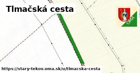 ilustrácia k Tlmačská cesta, Starý Tekov - 639m
