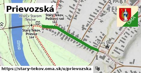 ilustrácia k Prievozská, Starý Tekov - 359m