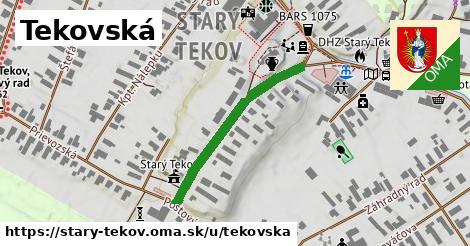 ilustrácia k Tekovská, Starý Tekov - 307m