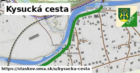 ilustračný obrázok k Kysucká cesta, Staškov