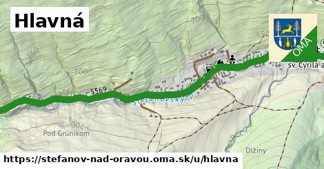 ilustrácia k Hlavná, Štefanov nad Oravou - 1,23km