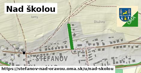 ilustrácia k Nad školou, Štefanov nad Oravou - 251m