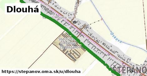 ilustrácia k Dlouhá, Štěpánov - 1,72km