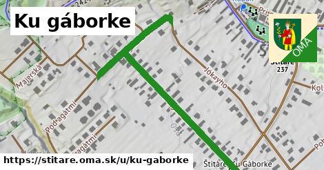ilustrácia k Ku gáborke, Štitáre - 0,77km