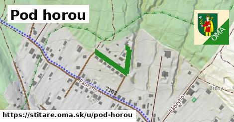 ilustrácia k Pod horou, Štitáre - 122m
