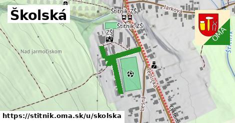 ilustračný obrázok k Školská, Štítnik