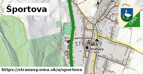 ilustrácia k Športova, Stráňavy - 0,93km