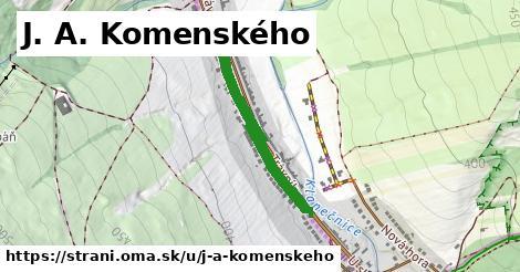 ilustrácia k J. A. Komenského, Strání - 612m