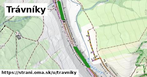 ilustrácia k Trávníky, Strání - 441m
