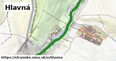 ilustrácia k Hlavná, Stránske - 1,75km