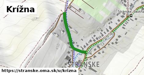 ilustrácia k Krížna, Stránske - 265m
