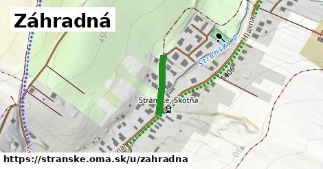 ilustrácia k Záhradná, Stránske - 133m