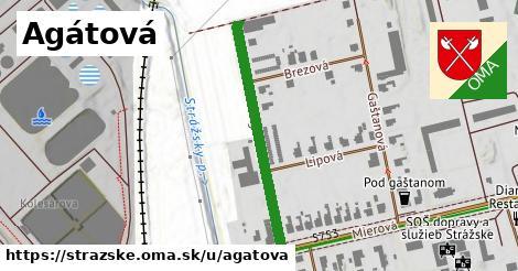 ilustrácia k Agátová, Strážske - 325m