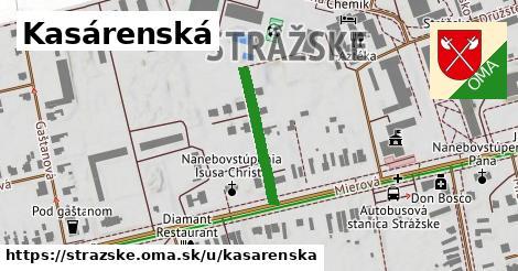 ilustrácia k Kasárenská, Strážske - 194m