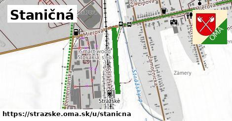 ilustrácia k Staničná, Strážske - 423m