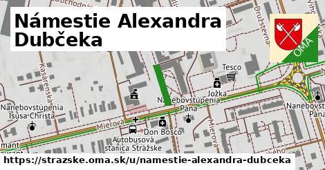 Námestie Alexandra Dubčeka, Strážske