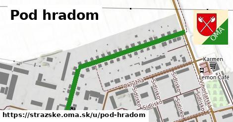 ilustrácia k Pod hradom, Strážske - 524m