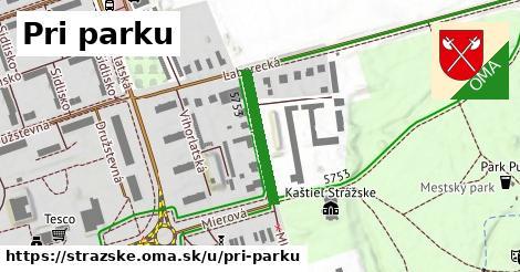 ilustrácia k Pri parku, Strážske - 200m
