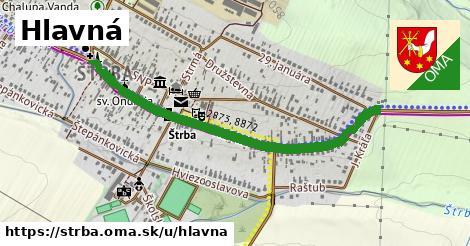ilustrácia k Hlavná, Štrba - 2,6km
