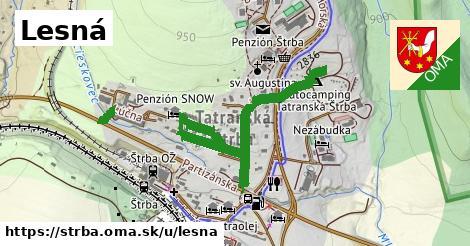 ilustrácia k Lesná, Štrba - 1,05km
