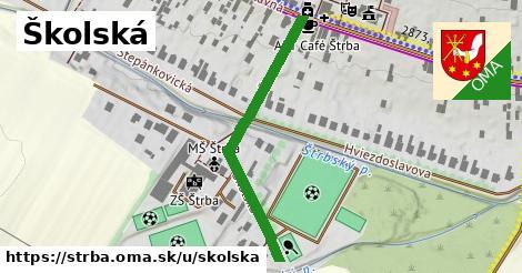 ilustrácia k Školská, Štrba - 406m