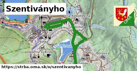 ilustrácia k Szentiványho, Štrba - 0,99km