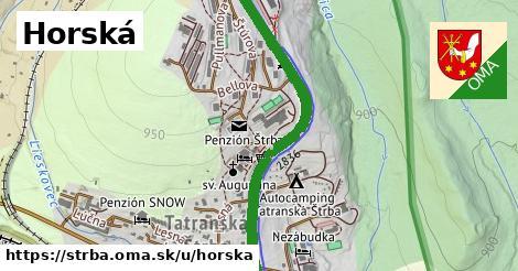 ilustrácia k Horská, Štrba - 1,56km