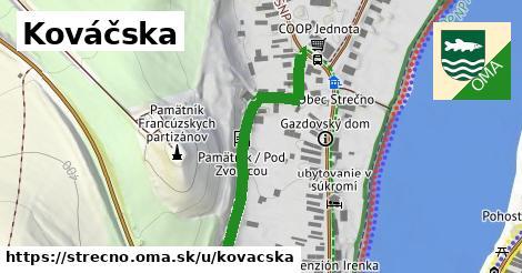 ilustrácia k Kováčská, Strečno - 364m
