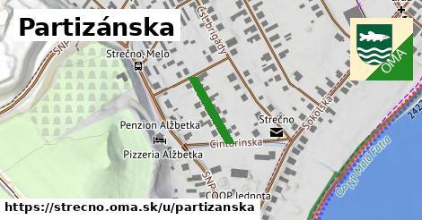 ilustrácia k Partizánska, Strečno - 133m