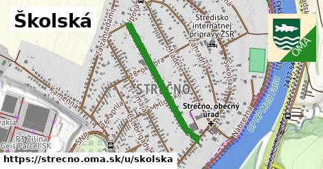 ilustrácia k Školská, Strečno - 627m