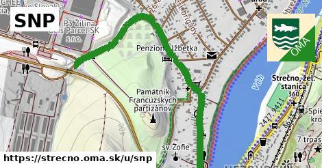 ilustrácia k SNP, Strečno - 1,02km