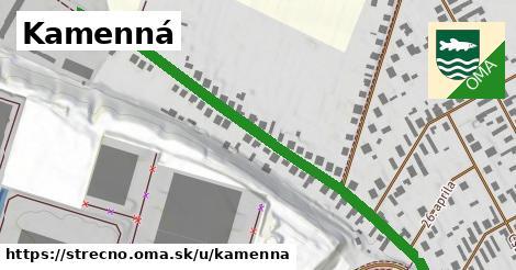 ilustrácia k Kamenná, Strečno - 644m
