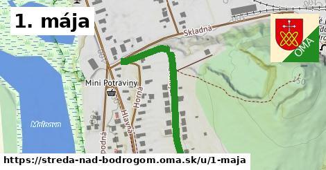 ilustrácia k 1.mája, Streda nad Bodrogom - 372m
