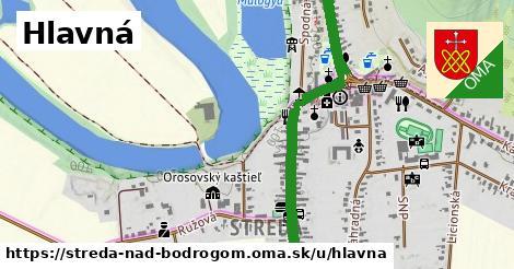 ilustrácia k Hlavná, Streda nad Bodrogom - 3,6km