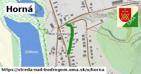 ilustrácia k Horná, Streda nad Bodrogom - 172m