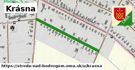 ilustrácia k Krásna, Streda nad Bodrogom - 390m