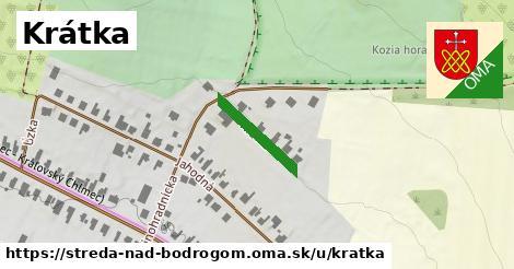 ilustrácia k Krátka, Streda nad Bodrogom - 155m