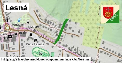ilustrácia k Lesná, Streda nad Bodrogom - 149m