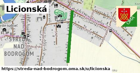 ilustrácia k Licionská, Streda nad Bodrogom - 559m